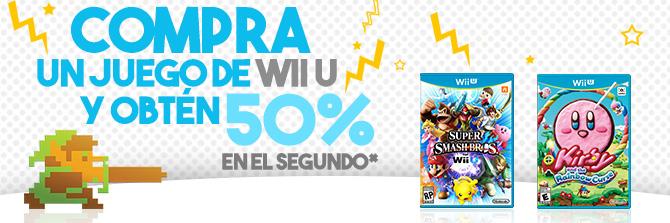 Gameplanet: Compra un juego de Wii U/3DS y llévate el 2do a mitad de precio