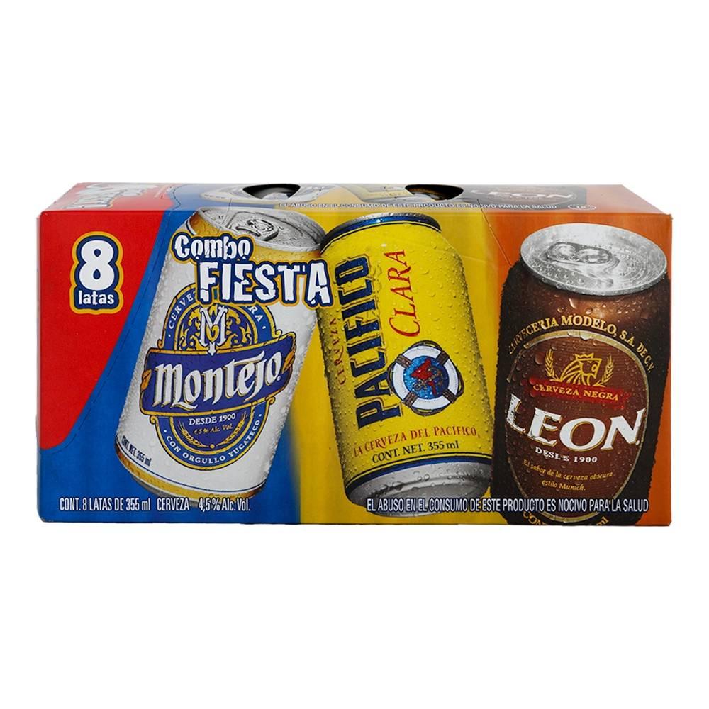 Superama: 24 Cervezas Modelo combo fiesta de 355 ml