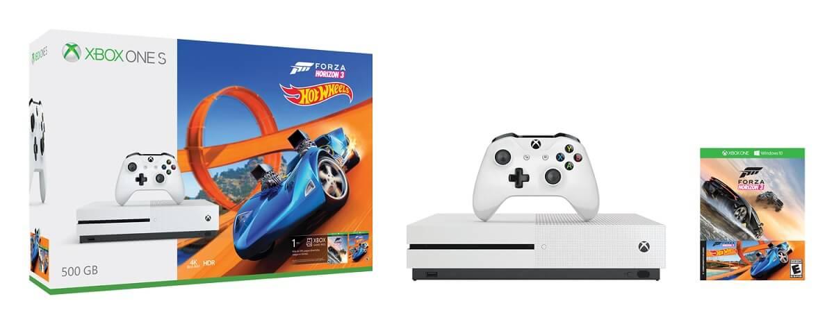 Best Buy: Consola Xbox One S 500GB + Forza Horizon 3 Hot Wheels