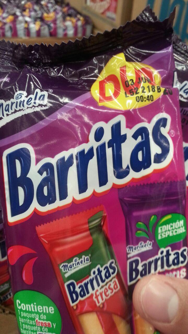 Bodega Aurrerá: Barritas Duo a $10 pesos