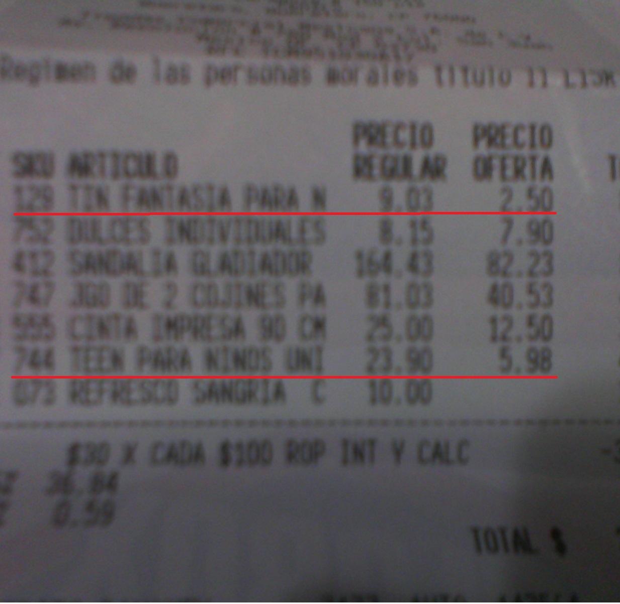 La Comer: Tines de bebé, niño y adulto desde $2.5