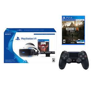 ebay:PlayStation VR Doom Bundle+ Resident Evil 7 Biohazard + SONY Wireless Controller