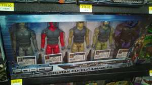Walmart: Pack 5 muñecos coleccionables Adventure Force a $145.01