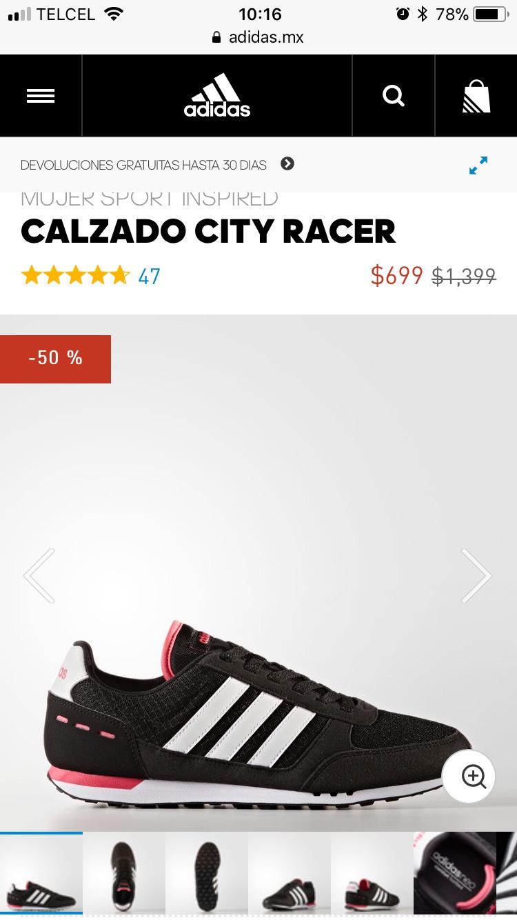 Adidas: CALZADO CITY RACER