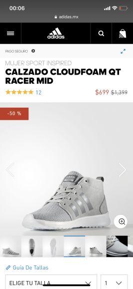Adidas: Calzado Cloudfoam