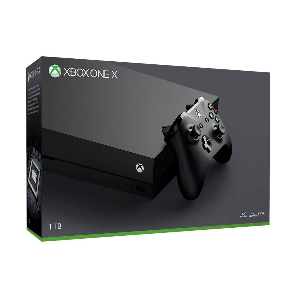 Amazon y Sam's Club: Consola Xbox One X 1TB