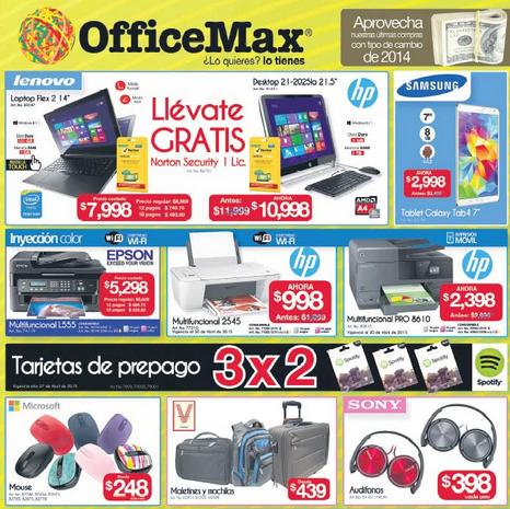 OfficeMax: 3x2 en tarjetas prepagadas Spotify