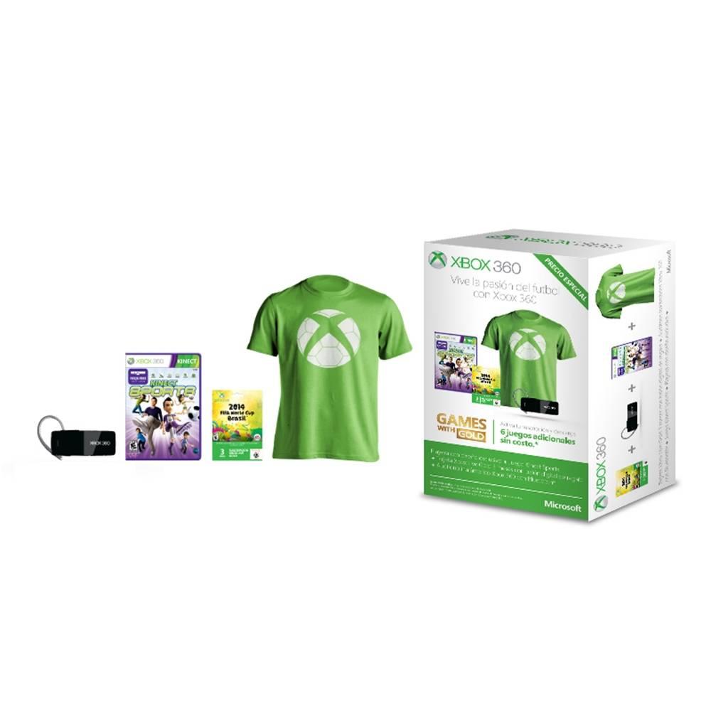 Walmart: bundle futbolero Xbox Live $499