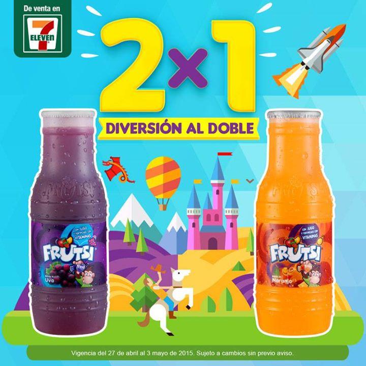 7 Eleven: 2x1 en Frutsi