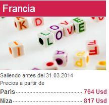 Air France: vuelos redondo París US$764, Barcelona $770, Roma $776 y más