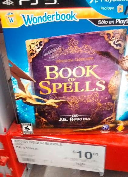 Sam's: Book of Spells de $1,199.00 a $10.00 (Solo Juego y Libro)