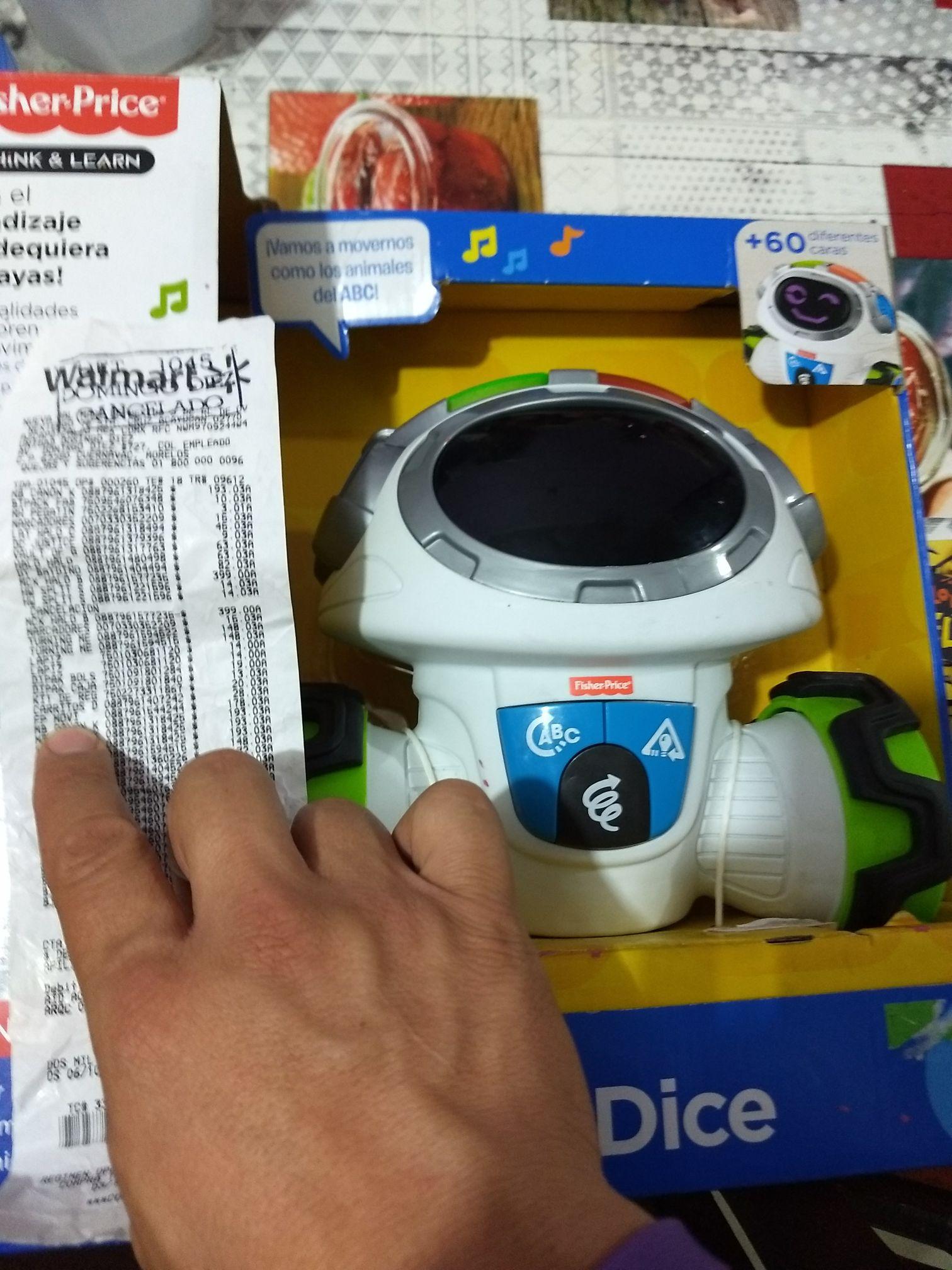 Walmart: Fp moví dice Fisher Price a $173.03