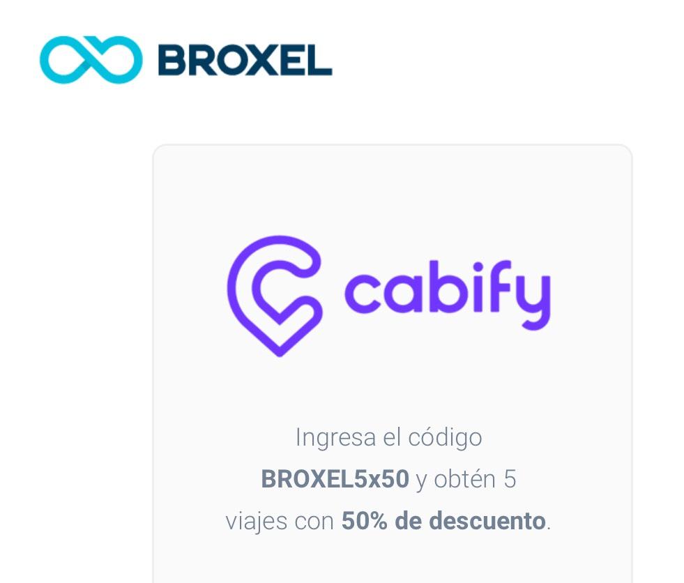 Cabify: 5 viajes con descuento usuarios nuevos