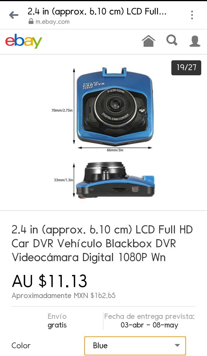 eBay: Car DVR 1080