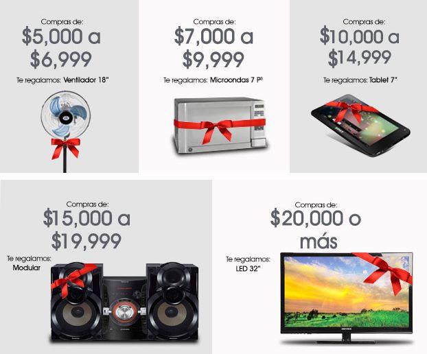 """Famsa: pantalla LED 40"""" $4,999, regalos con compras, envío gratis y más"""