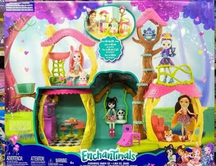 Walmart: Casa del árbol Enchantimals...Sigue la búsqueda de juguetes