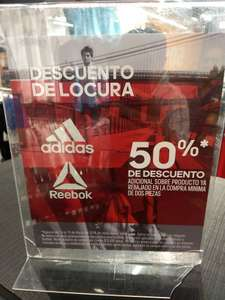 Adidas Outlet plaza Central cdmx
