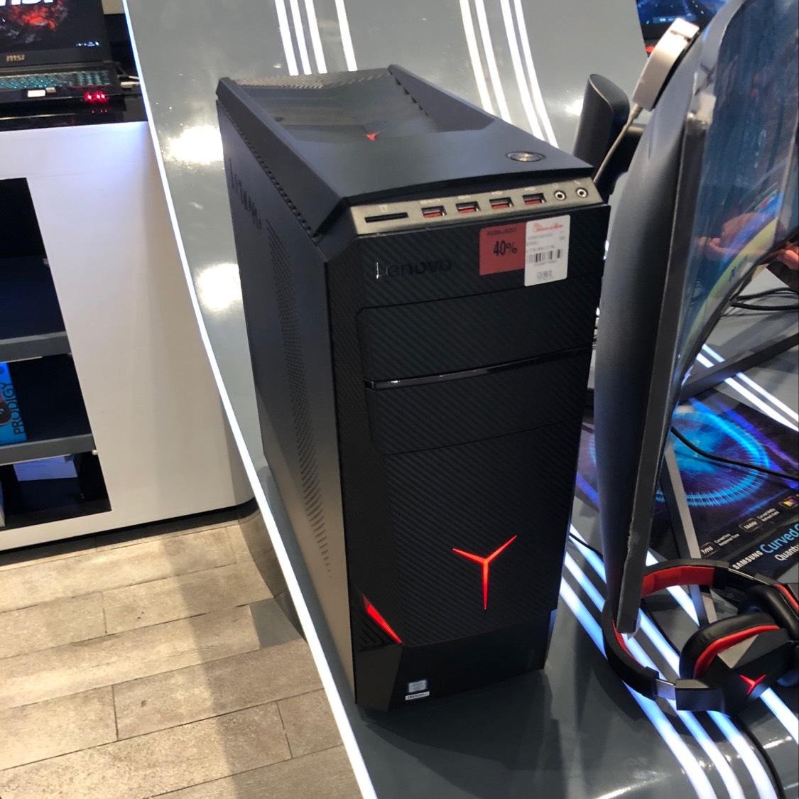 Palacio de Hierro Moliere: Computadora Lenovo Ideacentre Y700-34ISH Torre Core i7-6700 8GB RAM DDR4 HDD 2TB GeForce GTX 1070 8GB W10 + Headset +Mouse M600+Teclado Mecanico Lenovo Y