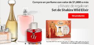 Walmart: de regalo Set Elixir Shakira en la compra de un perfume