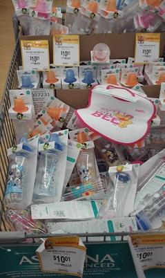 Walmart: Biberones con licencia de Disney en $10.01