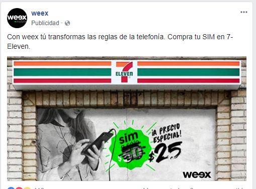 7 Eleven: Chip Weex en $25