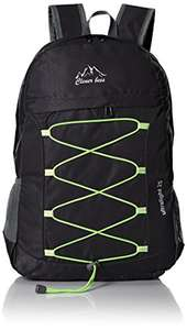 Amazon: CLEVER BEES Outdoor Water Resistant Hiking Backpack, Black $229