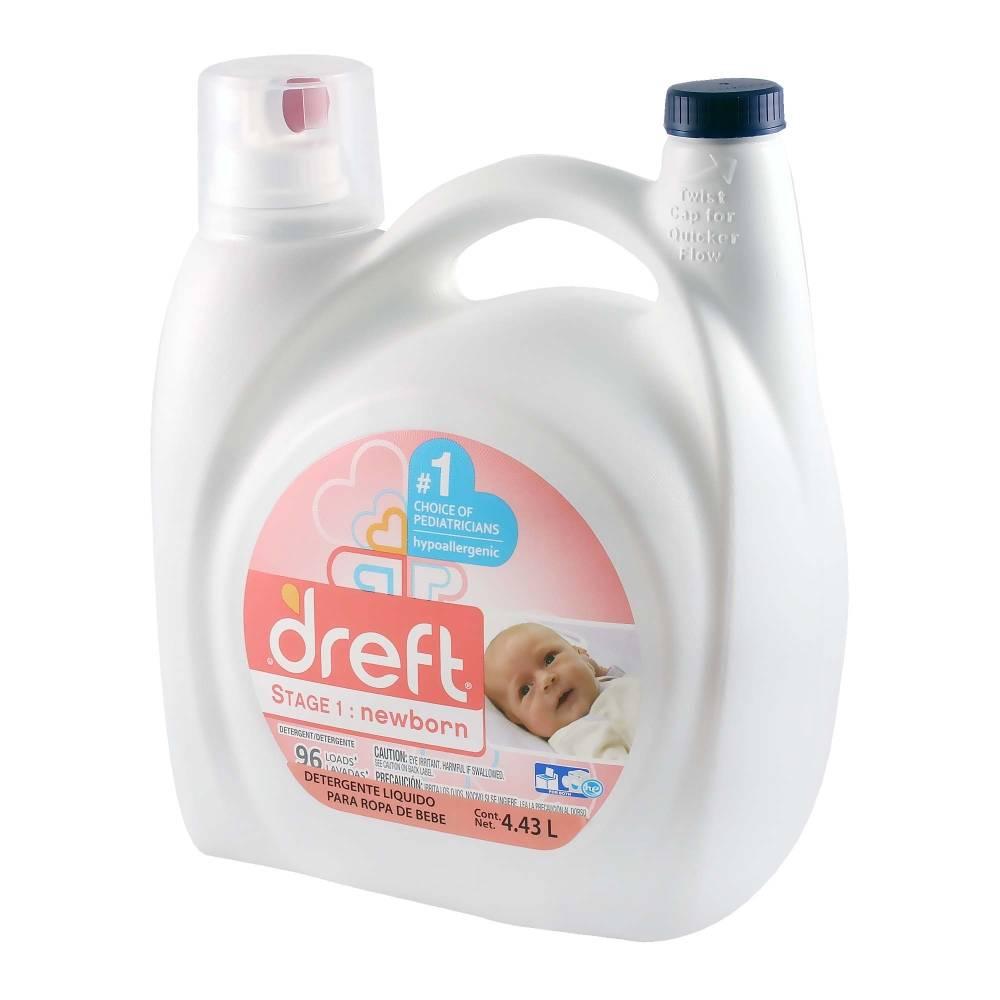 Sam's Club:  Detergente Líquido Dreft  4.43L