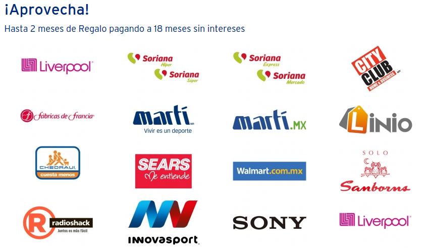 Información, ofertas y tiendas participantes 120 horas Banamex 2015
