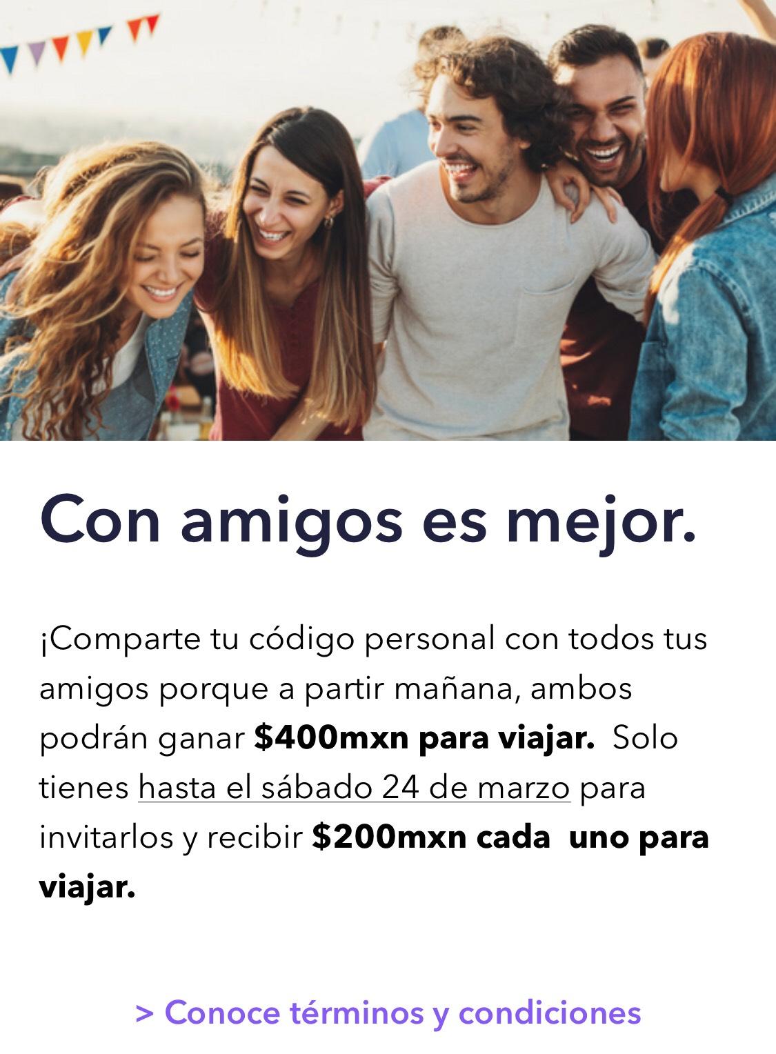 CABIFY | $200 de regalo para ti y tu amigo