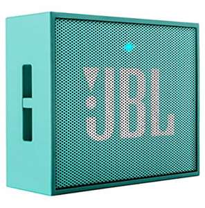 Amazon: JBL GO Bocina con Bluetooth, Aqua y Roja