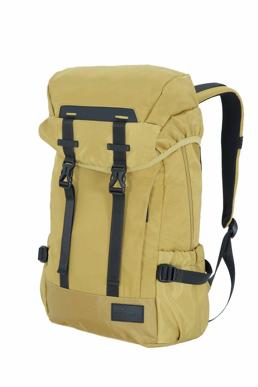 Amazon: Mochila SwissGear con compartimentos para laptop y tablet. Amarilla, aplica Prime