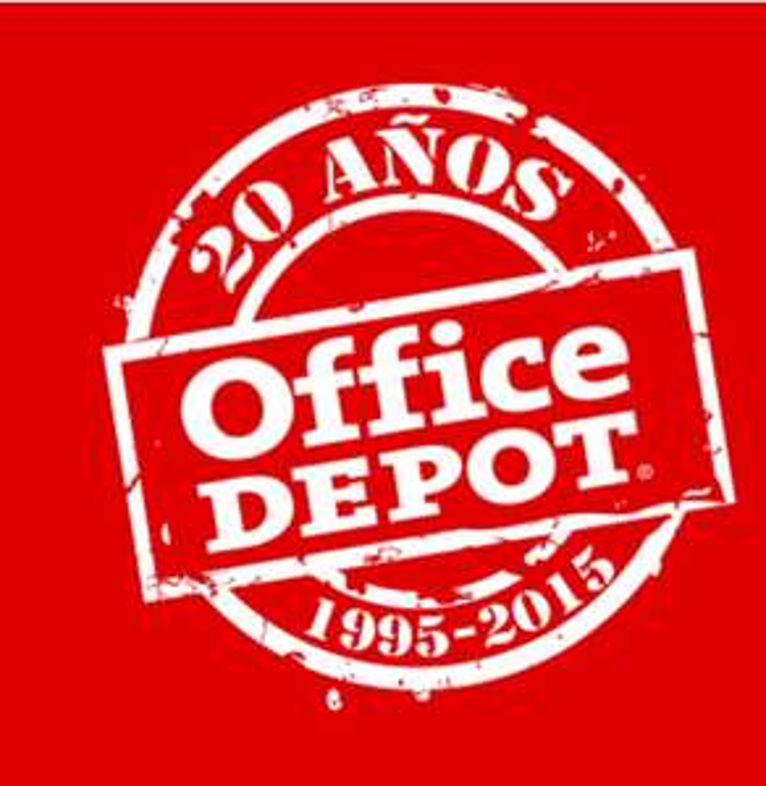 Office Depot Ofertas 20 años (Ej. iPad Air 2 16GB a $5,699)
