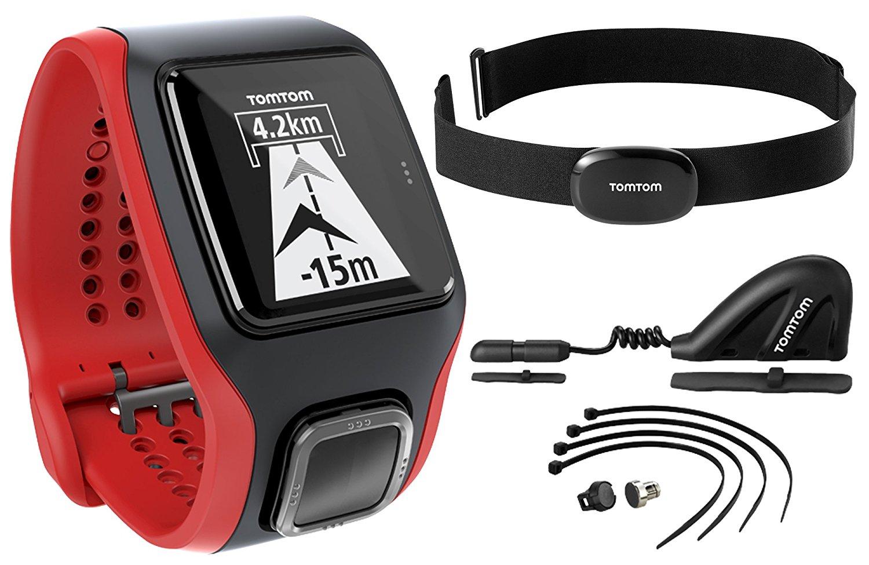 Amazon: TomTom 1RH0.001.02 Multi-Sport Cardio GPS Watch, black
