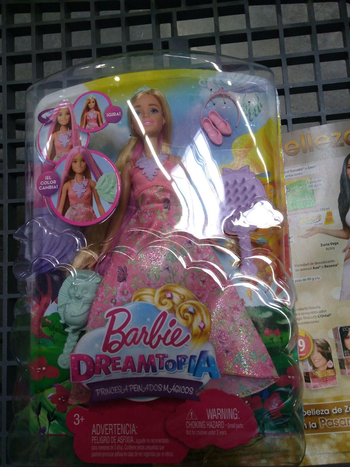 Walmart:  Barbie dreamtopia ,atomizador $2.02y varias liquidaciones