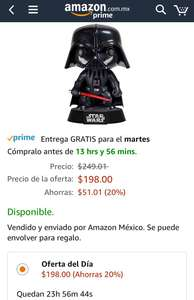 Amazon: Funko Action Figure Star Wars Darth Vader