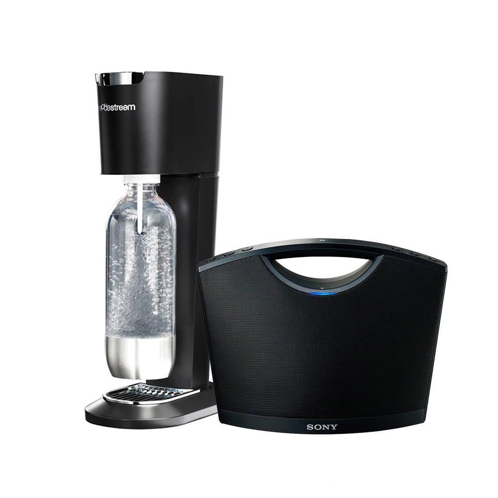 Walmart: soda stream + bocina bluethoot Sony $1,990 ($1,190 de ahorro)