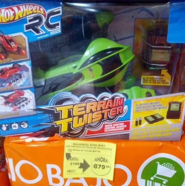 La Comer: liquidación de juguetes