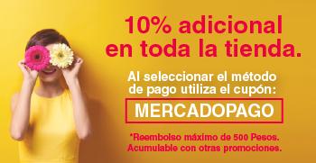 Outlet Mabe: 10% de descuento adicional en toda la tienda reembolso máximo $500