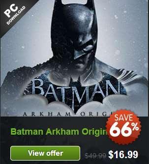 GMG: Injustice Ultimate Edition US$12.49, Arkham Origins $16.99, Bioshock Infinite $10.19, LEGO Movie $