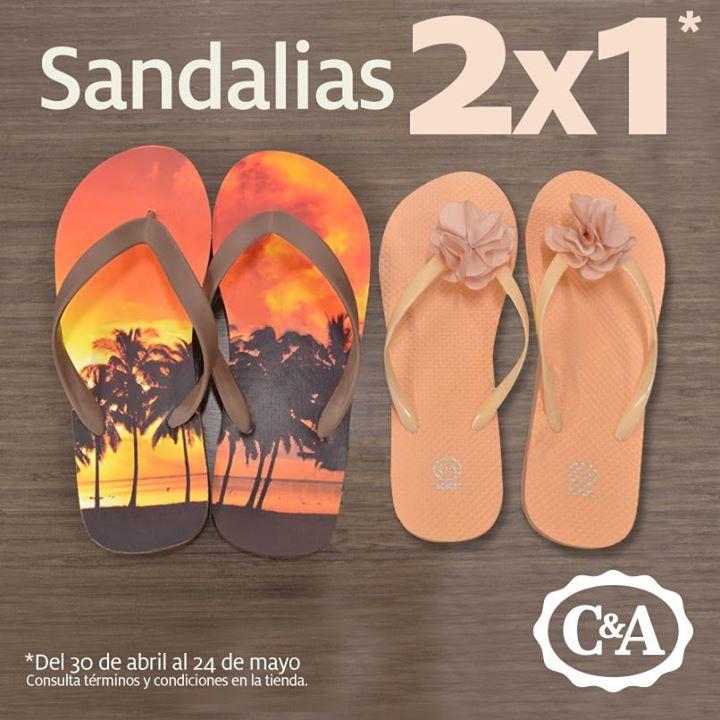 C&A: 2x1 en sandalias