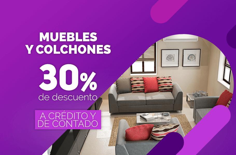 Famsa: 30% de descuento en muebles y colchones