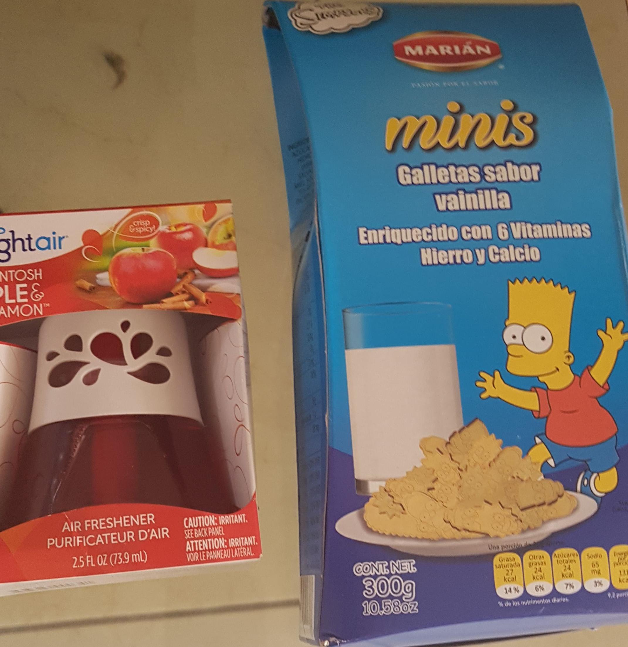 Walmart merida: galletas chocolates blusas aromatizante etc