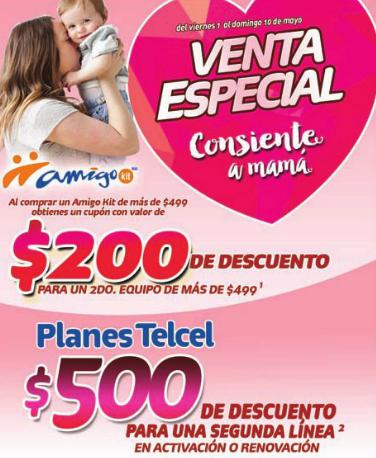 Telcel: $200 de descuento comprando dos celulares Amigo Kit