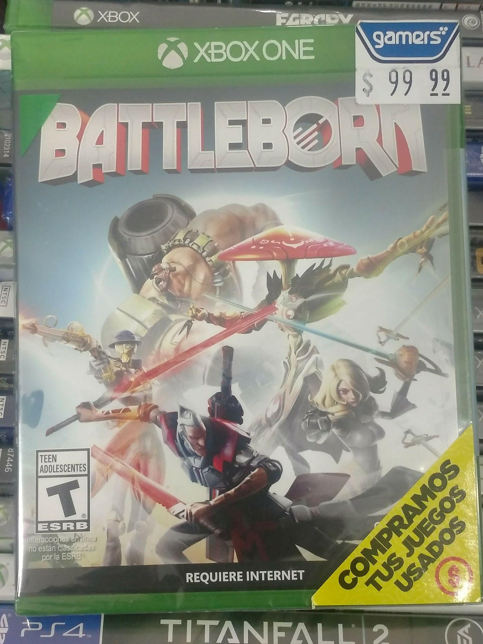 Gamers: Battleborn para PS4 y Xbox