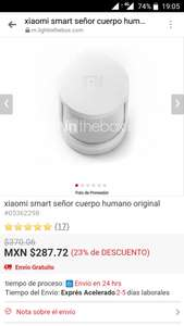 Lightinginthebox: sensor de seguridad xiaomi