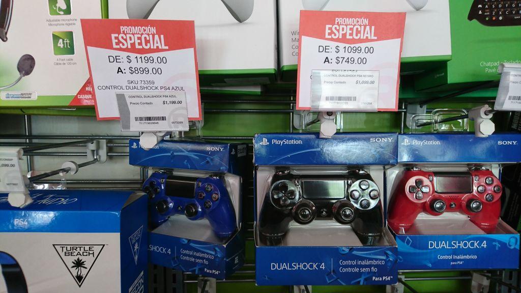 RadioShack Villasuncion AGS: Canon SX410 y DualShock PS4 en Oferta.