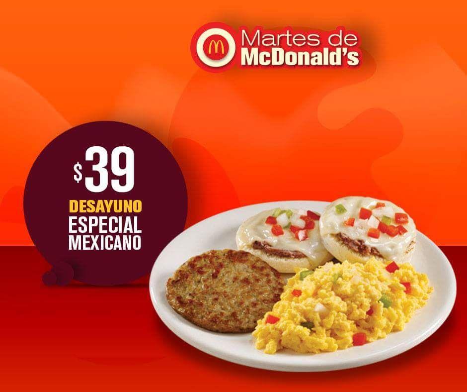 McDonald's: Desayuno Especial Mexicano