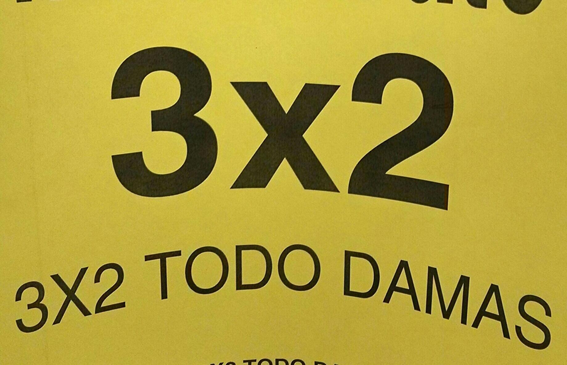 Soriana Mercado: Ropa de mujer al 3×2
