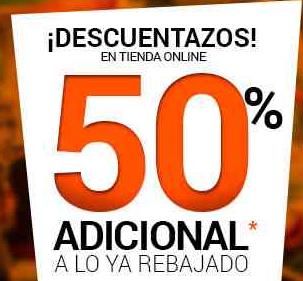 Martí: 50% de descuento extra en tienda online menos $500 adicional comprando $2,000