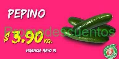 Miércoles de plaza en La comer mayo 13: pepino $3.90 y más